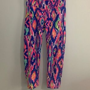 Lilly Pulitzer Luxletic Cropped Legging Size M